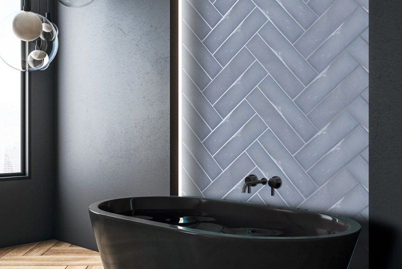Artiste Decorative Blue Metro Tiles