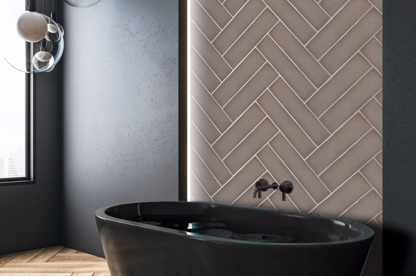 Artiste Decorative Brown Metro Tiles