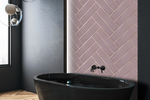 Artiste Decorative Pink Metro Tiles