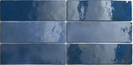 Artistic Blue Antique Metro Wall Tiles