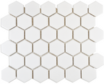 Autograph Gloss White Hexagon Mosaic Tiles