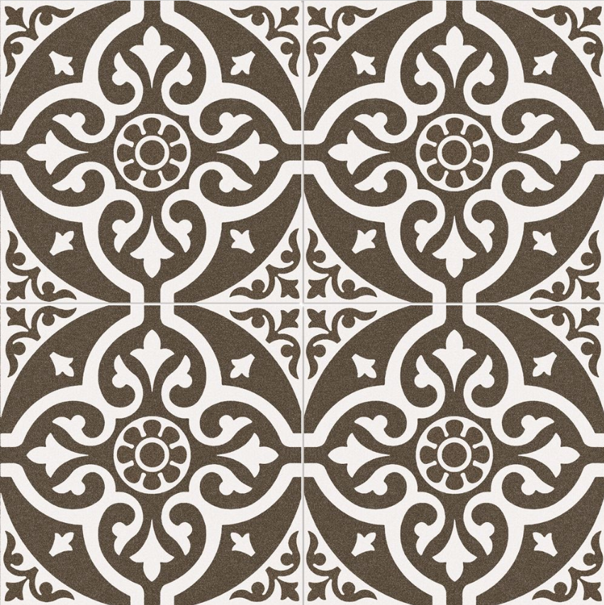 Bedford Black Pattern Tile