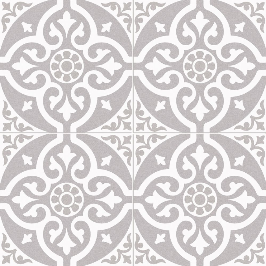 Bedford Grey Pattern Tile