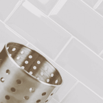 Bevelled Silver Grey Metro Wall Tiles