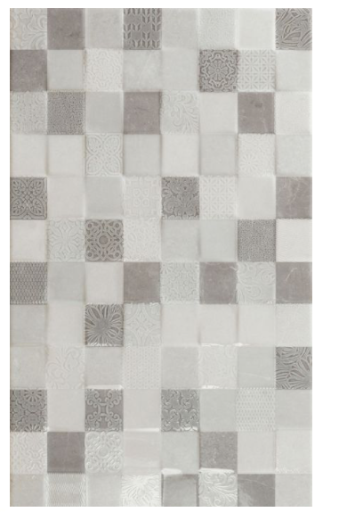 Bianchi Grey Mosaic Panel Tiles