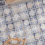 Blossom Antique Victorian Wall And Floor Tiles
