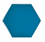 Bolt Blue Hexagon Wall Tiles