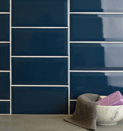 Bolt Blue Metro Wall Tiles