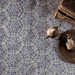 Bordeaux Persian Hexagon Tile