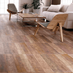 Brown Wood Effect Wall And Floor Tiles
