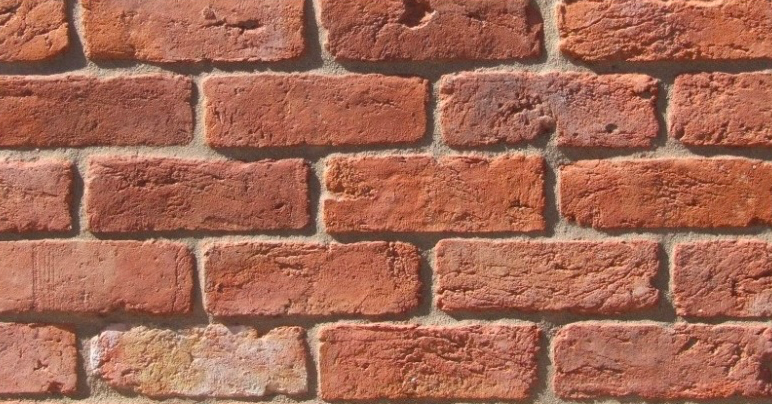 Brummie Rustic Red Brick Slips