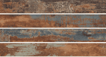 Burnt Copper Blue Wood Effect Tiles