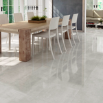 Calustic Silver Gloss Floor Tiles