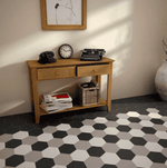 chequer-grey-hexagon-tiles