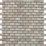 Chia Brick Effect Mini Mixed Mosaic Tiles