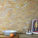 Chia Brick Effect Mixed Mosaic Tiles