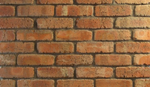 Cobble Aged Stained Rustic Red Brick Slips