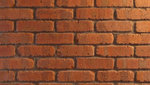 Cobble Round Edge Rustic Red Brick Slips