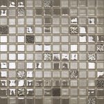 Cobbled Silver Mosaic Tiles