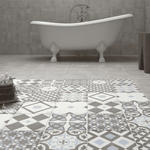 Victorian Random Geometric Tiles - Appleby's Tiles