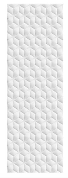 Concept Cube Matt White Wall Tiles