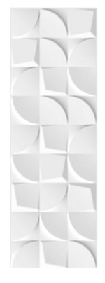 Concept Curve Matt White Wall Tiles