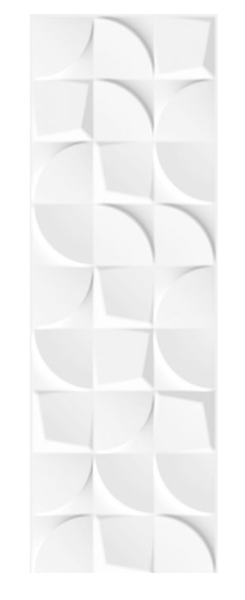 Concept Curve White Wall Tiles