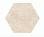 Concrete Sand Effect Hexagon Tiles