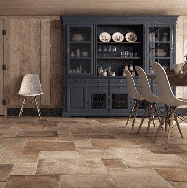 Cottage Stone Effect Large Mix Anti-Slip Tiles