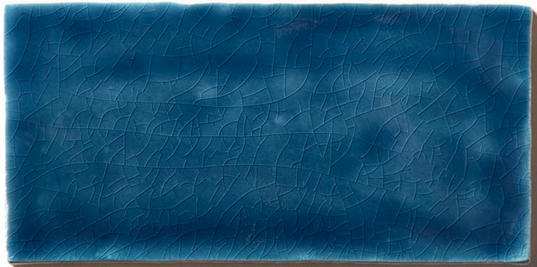 Crackle Dark Blue Metro Wall Tiles