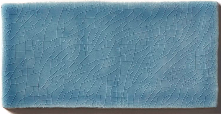 Crackle Med Blue Metro Wall Tiles