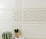 Cream Diamond Metro Tiles