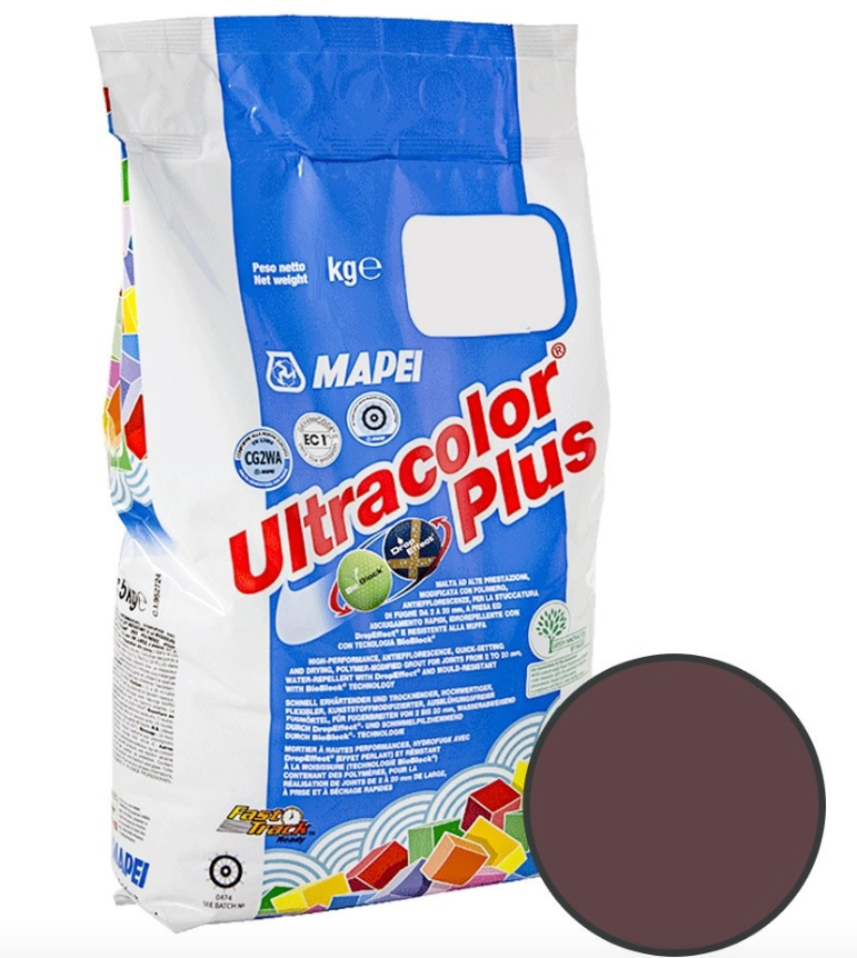 Dark Brown Floor And Wall Grout 2KG