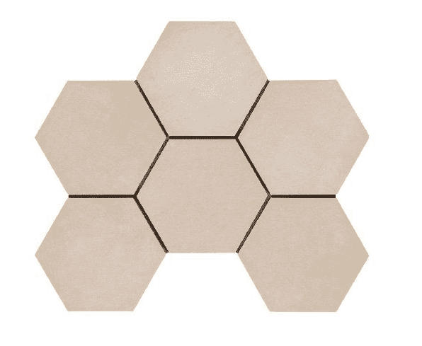 Desert Sand Hexagon Tiles