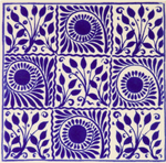 designer-blue-floral-encaustic-effect-wall-tiles