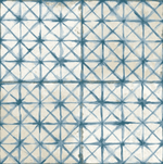 Diamond Stitch Blue Patterned Tiles