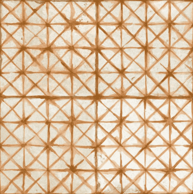 diamond-stitch-ginger-patterned-tiles