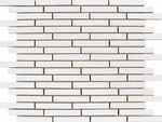 Elite Pencil White Mosaic Tiles