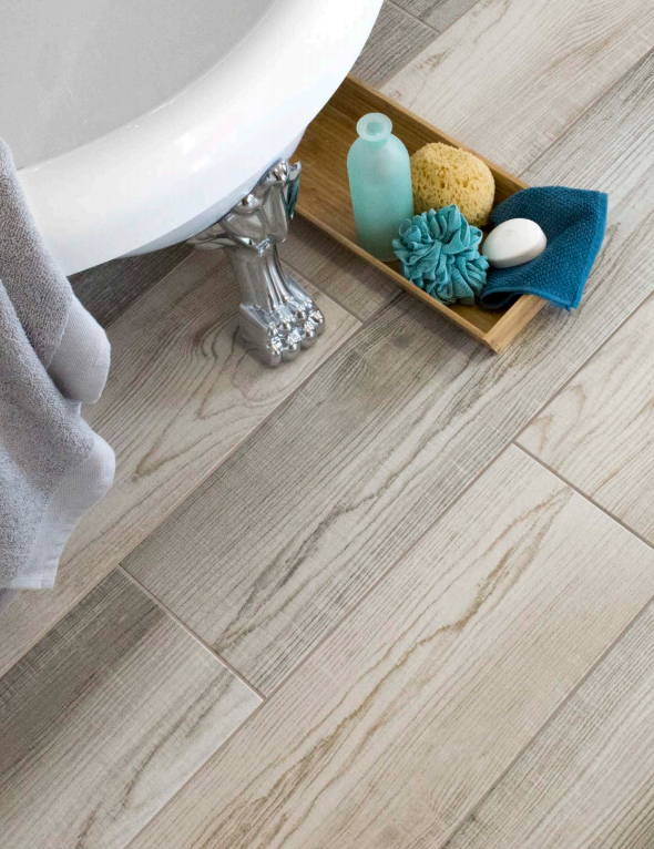 Elysian Gris Wood Effect Tile