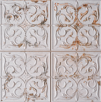 embossed-antique-white-wall-tiles