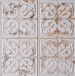Embossed Antique White Wall Tiles