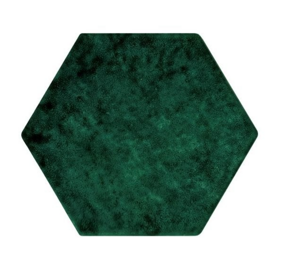 Emerald Green Hexagon Tiles