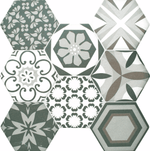 floral-blend-pattern-hexagon-tiles