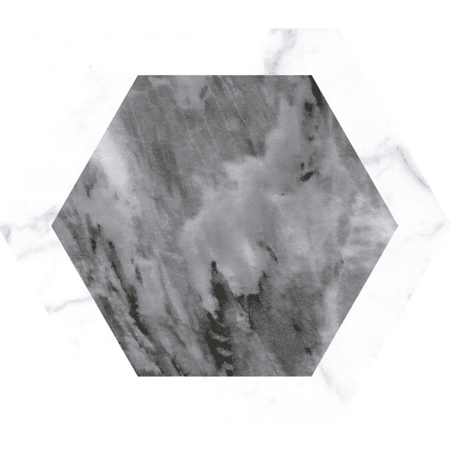 geometric-grey-marble-hexagon-tiles