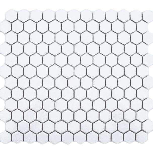gloss-white-hexagon-mosaic-tiles