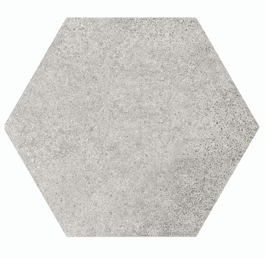 Grey Stone Hexagon Tiles