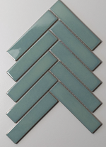 herringbone-gloss-green-mosaic-tiles