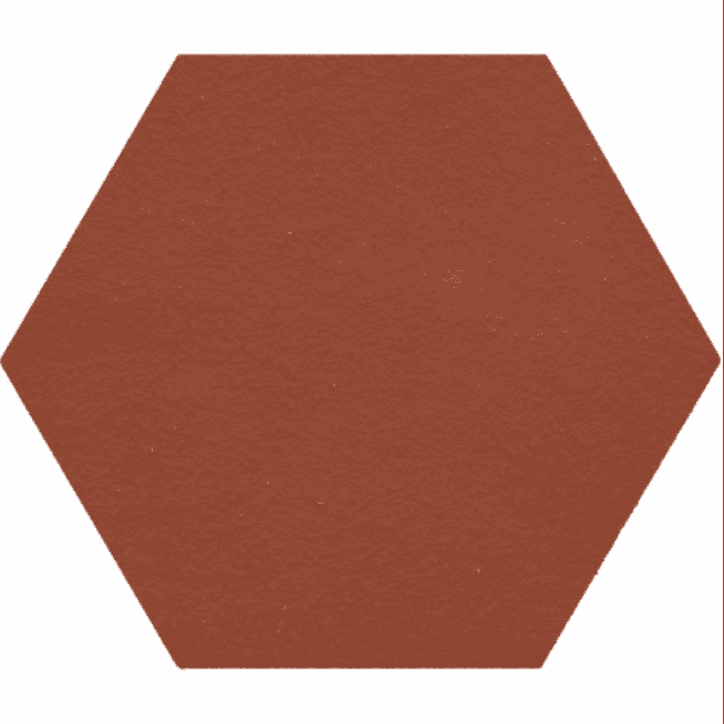 Hexagon Medium Anti-Slip Quarry Tiles