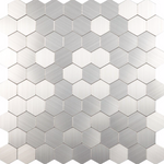 Hexagon Steel Mosaic Tiles