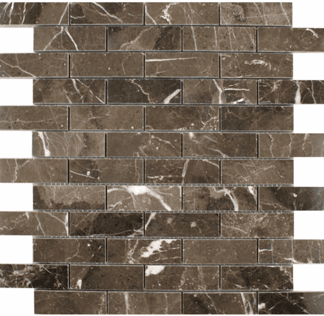 hoilan-polished-brown-marble-mosaic-tiles